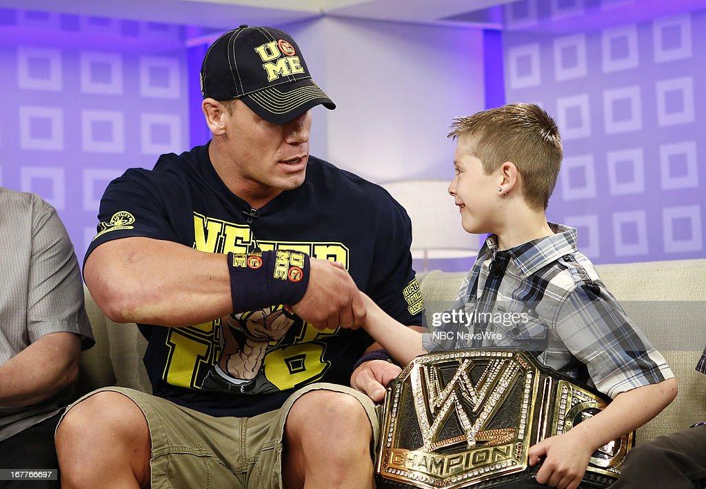 John Cena and Nick Santillo appear on NBC News' 'Today' show --