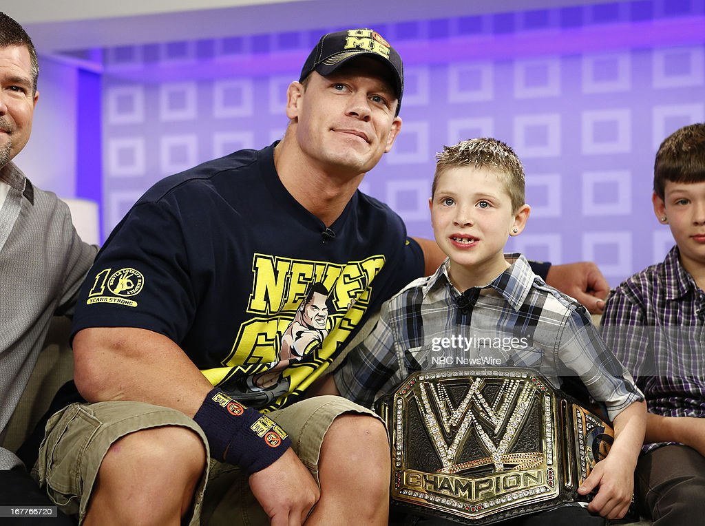 John Cena and Nick Santillo appear on NBC News' 'Today' show --