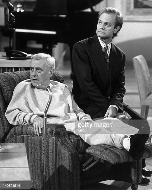 John Mahoney as Martin Crane David Hyde Pierce as Doctor Niles Crane Photo by NBCU Photo Bank