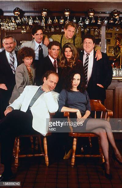 John Ratzenberger as Cliff Clavin Rhea Perlman as Carla LeBec Roger Rees as Robin Colcord Ted Danson as Sam Malone Kirstie Alley as Rebecca Howe...