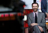 Jon Hamm of AMC's Madmen appears on NBC News' 'Today' show