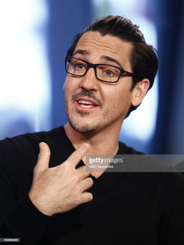 Jonathan Knight of New Kids on the Block appears on NBC News' 'Today' show --