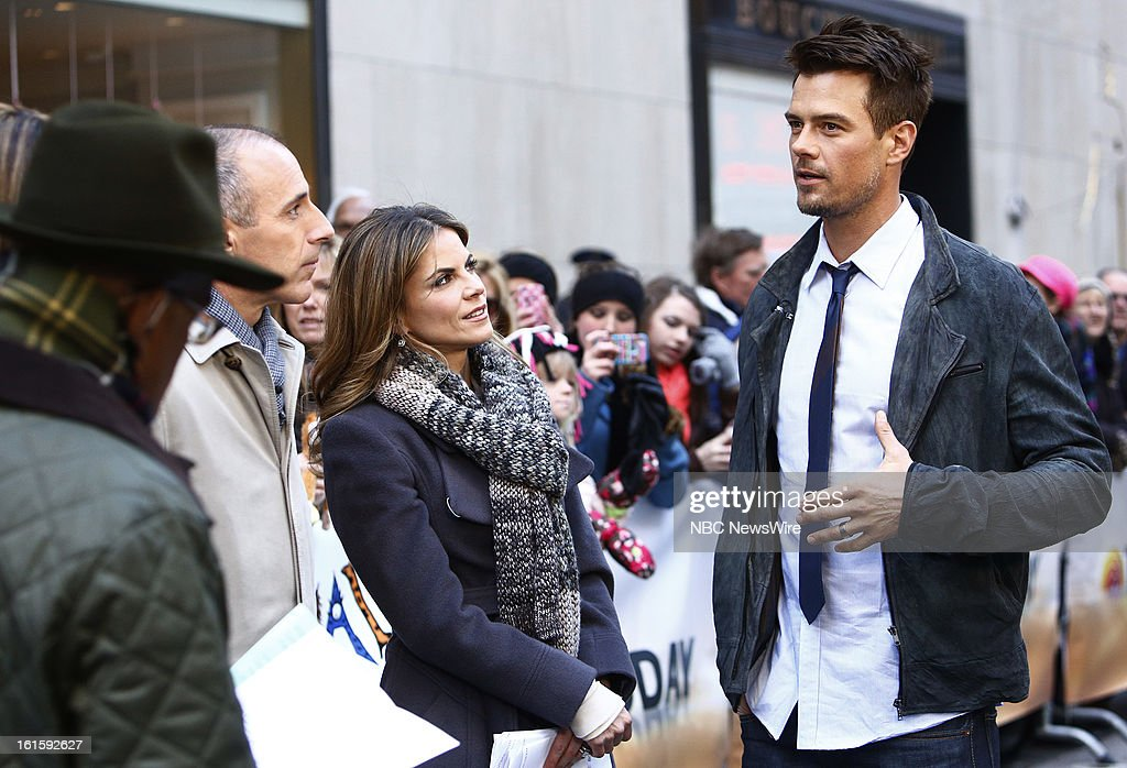 Josh Duhamel appears on NBC News' 'Today' show --