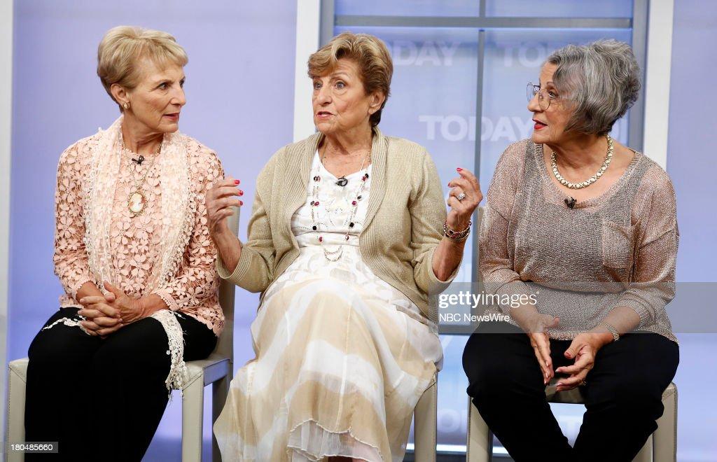Josie Cavaluzzi, Mary Bartnicki and Teresa Dahlquist appear on NBC News' 'Today' show --