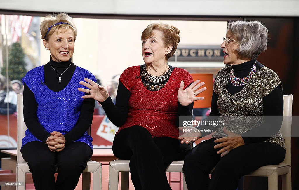 Josie Cavaluzzi, Mary Bartnicki and Terry Dahlquist appear on NBC News' 'Today' show --