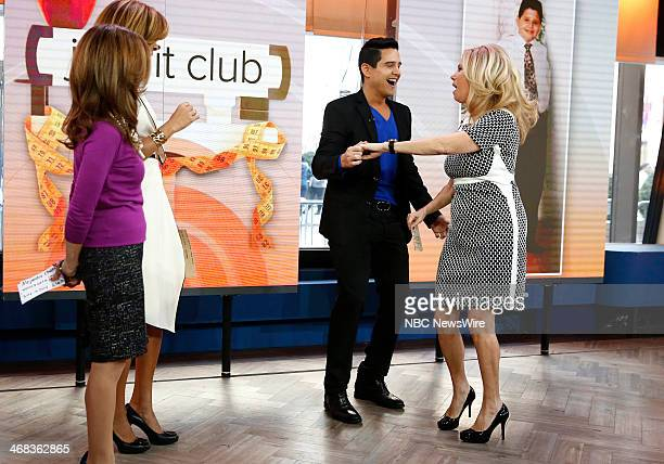 Joy Bauer Hoda Kotb Alejandro Chaban and Kathie Lee Gifford appear on NBC News' 'Today' show