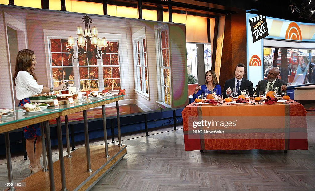Joy Bauer, Natalie Morales, Willie Geist and Al Roker appear on NBC News' 'Today' show --
