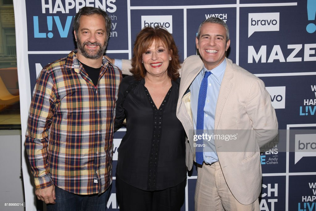 Judd Apatow, Joy Behar and Andy Cohen --