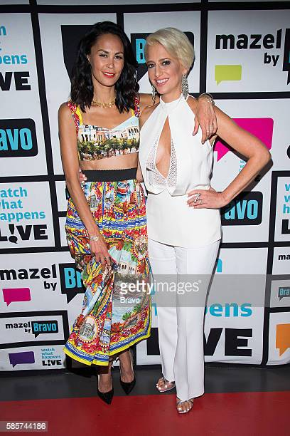 Jules Wainstein and Dorinda Medley