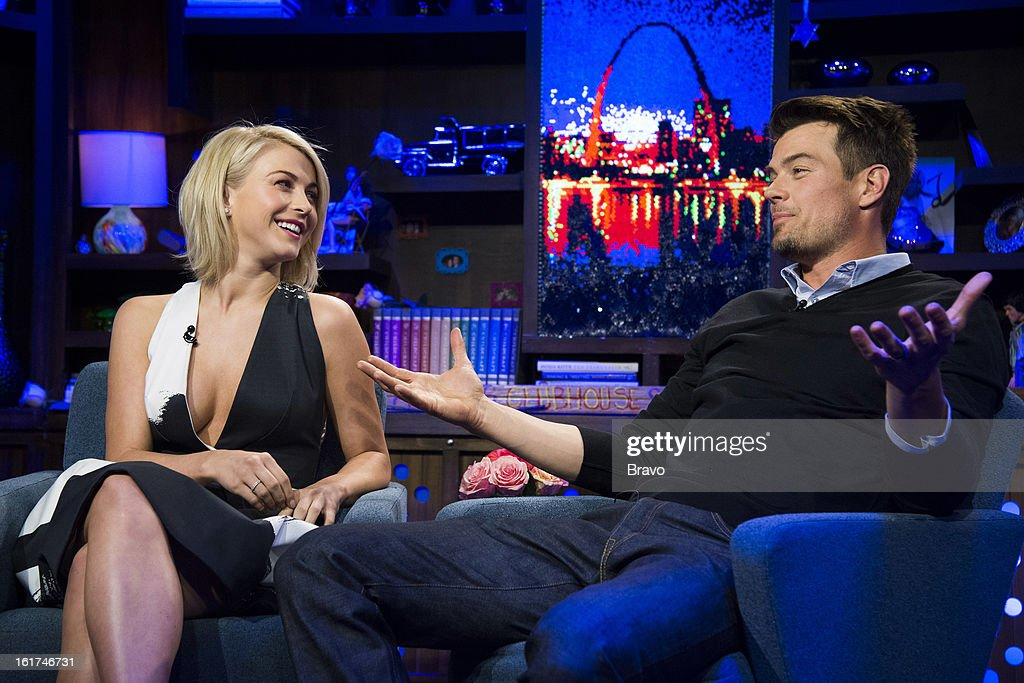 Julianne Hough and Josh Duhamel -- Photo by: Charles Sykes/Bravo/NBCU Photo Bank via Getty Images