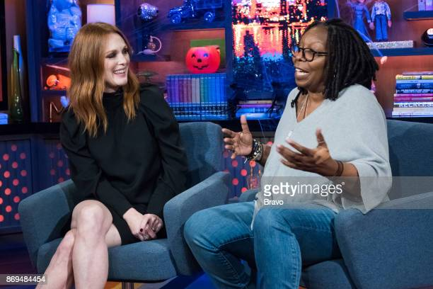 Julianne Moore and Whoopi Goldberg
