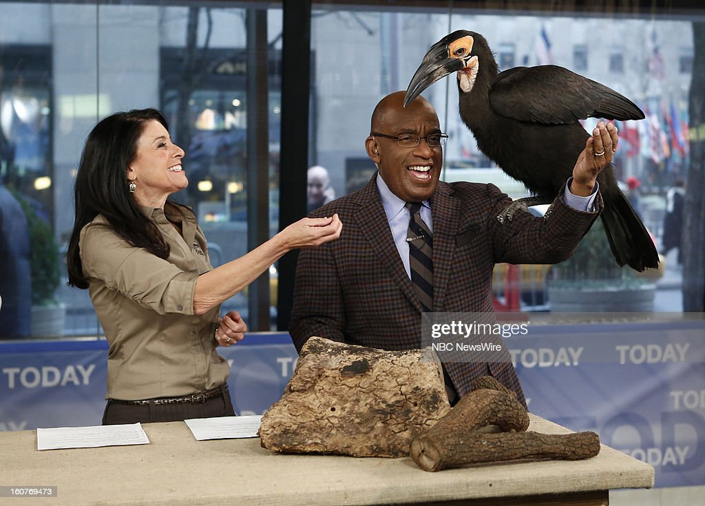 Julie Scardina and Al Roker appear on NBC News' 'Today' show --