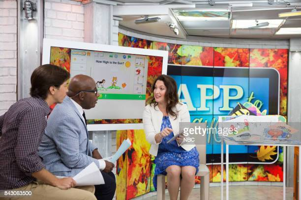 Justin Long Al Roker and Randi Zuckerberg on Monday September 5 2017