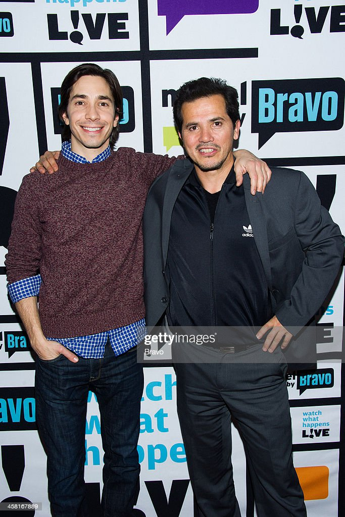 <a gi-track='captionPersonalityLinkClicked' href=/galleries/search?phrase=Justin+Long&family=editorial&specificpeople=240305 ng-click='$event.stopPropagation()'>Justin Long</a> and John Leguizamo -- Photo by: Charles Sykes/Bravo/NBCU Photo Bank via Getty Images
