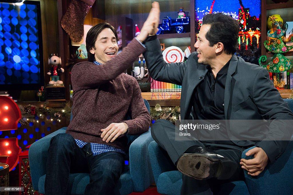 Justin Long and John Leguizamo -- Photo by: Charles Sykes/Bravo/NBCU Photo Bank via Getty Images