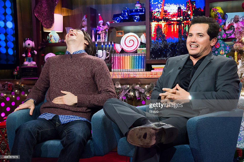 Justin Long and John Leguizamo -- Photo by: Charles Sykes/Bravo/NBCU Photo Bank via Getty Images