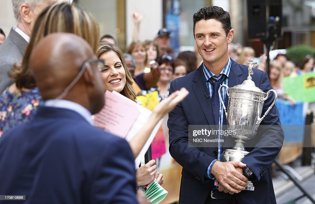 Justin Rose appears on NBC News' 'Today' show --