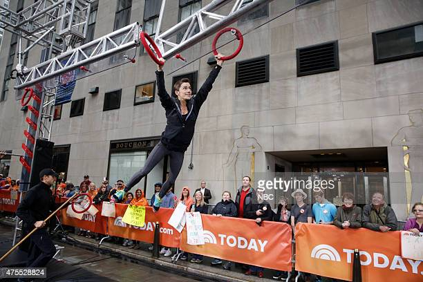 Kacy Catanzaro appears on NBC News' 'Today' show on Monday June 1 2015