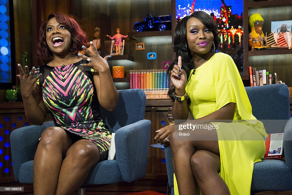 Kandi Burruss and Quad Webb-Lunceford -- Photo by: Charles Sykes/Bravo/NBCU Photo Bank via Getty Images