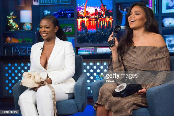 Kandi Burruss and Sanaa Lathan