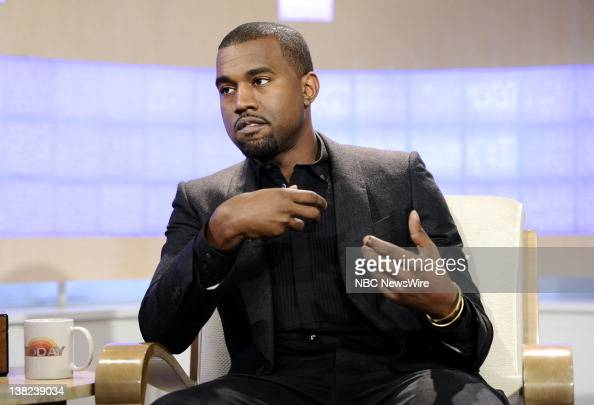 Kanye West appears on NBC News' 'Today' show