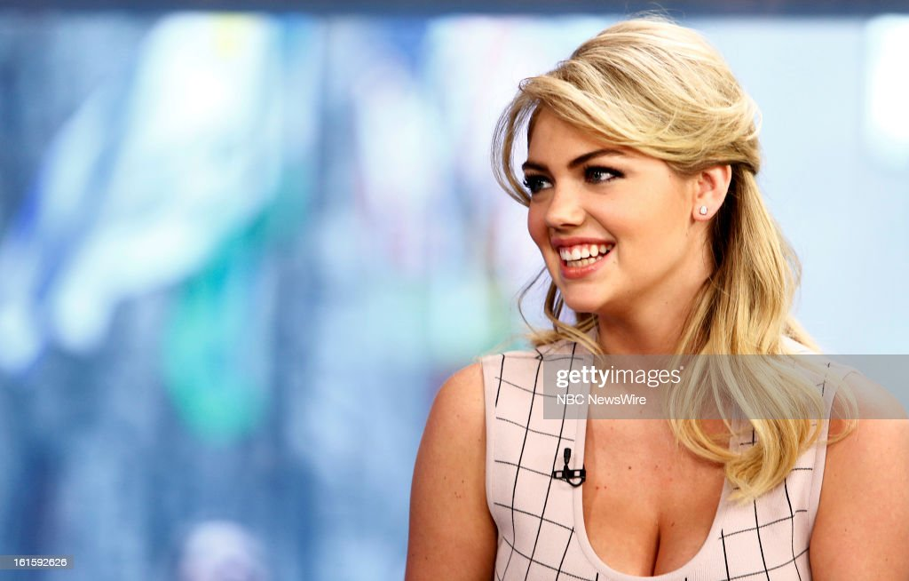 Kate Upton appears on NBC News' 'Today' show --