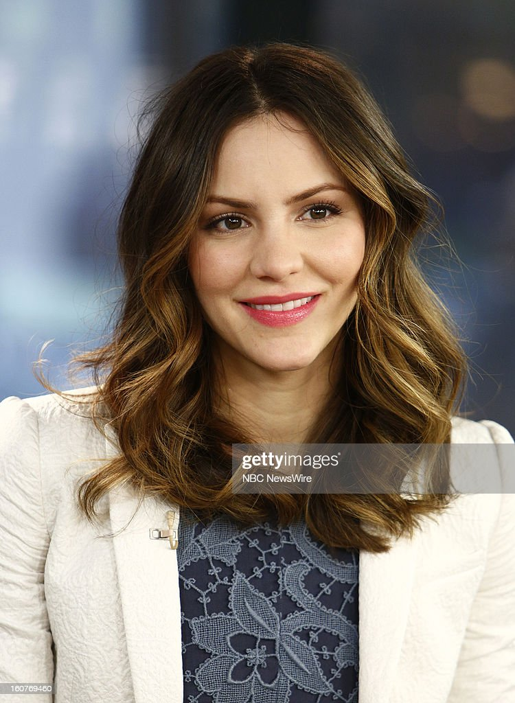 Katharine McPhee appears on NBC News' 'Today' show --