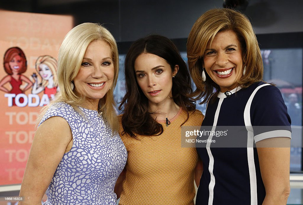 <a gi-track='captionPersonalityLinkClicked' href=/galleries/search?phrase=Kathie+Lee+Gifford&family=editorial&specificpeople=203269 ng-click='$event.stopPropagation()'>Kathie Lee Gifford</a>, <a gi-track='captionPersonalityLinkClicked' href=/galleries/search?phrase=Abigail+Spencer&family=editorial&specificpeople=748117 ng-click='$event.stopPropagation()'>Abigail Spencer</a> and <a gi-track='captionPersonalityLinkClicked' href=/galleries/search?phrase=Hoda+Kotb&family=editorial&specificpeople=2338013 ng-click='$event.stopPropagation()'>Hoda Kotb</a> appear on NBC News' 'Today' show --