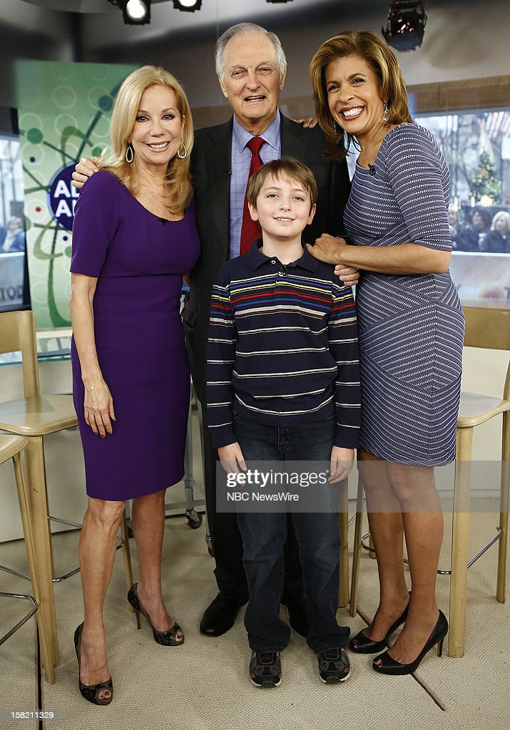 Kathie Lee Gifford, Alan Alda, Simon O' Rourke and Hoda Kotb appear on NBC News' 'Today' show --