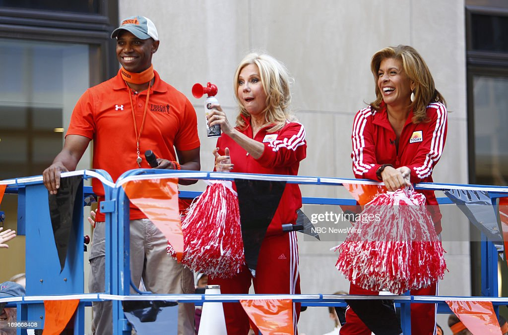 Kathie Lee Gifford and Hoda Kotb appear on NBC News' 'Today' show --