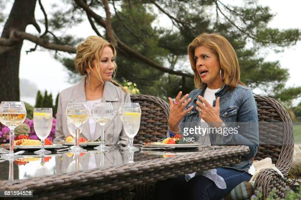 Kathie Lee Gifford and Hoda Kotb on Thursday April 27 2017