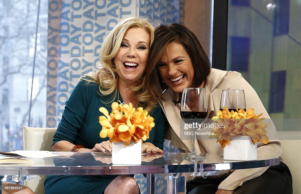 Kathie Lee Gifford and Mariska Hargitay appear on NBC News' 'Today' show --