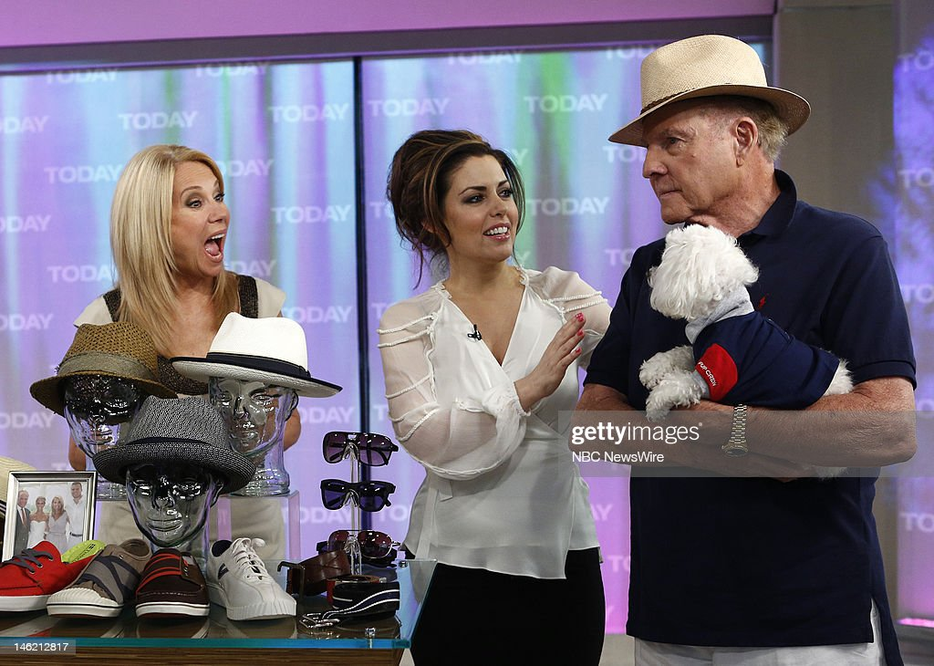 Kathie Lee Gifford, Bobbie Thomas and Frank Gifford appear on NBC News' 'Today' show --