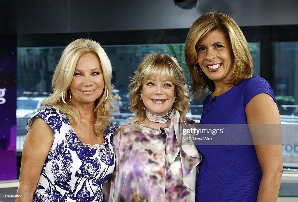 Kathie Lee Gifford, Candy Spelling and Hoda Kotb appear on NBC News' 'Today' show --