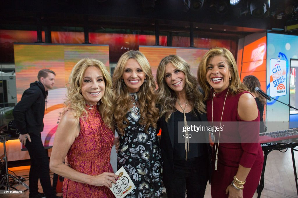 Kathie Lee Gifford, Carly Pearce, Rita Wilson and Hoda Kotb on Monday, October 16, 2017 --