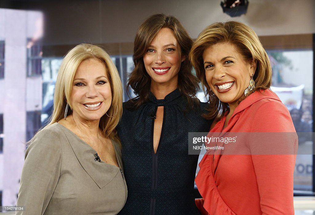 Kathie Lee Gifford, Christy Turlington Burns and Hoda Kotb appear on NBC News' 'Today' show --
