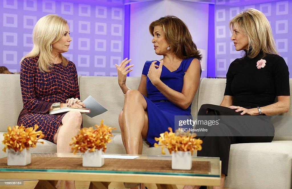 Kathie Lee Gifford, Hoda Kotb and Jane Lorenzini appear on NBC News' 'Today' show --