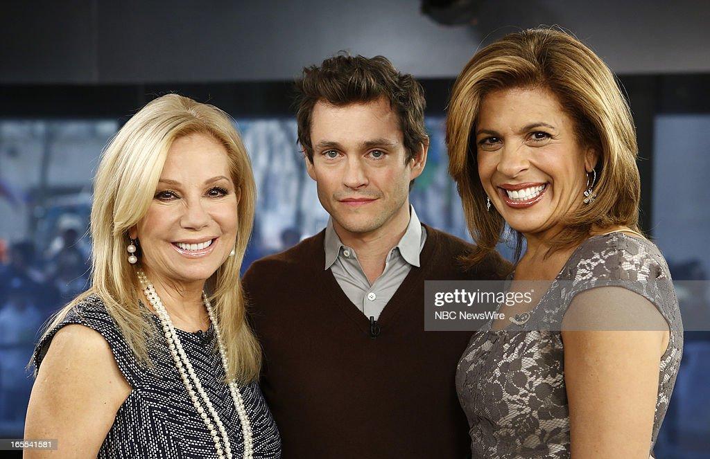 Kathie Lee Gifford, Hugh Dancy and Hoda Kotb appear on NBC News' 'Today' show --