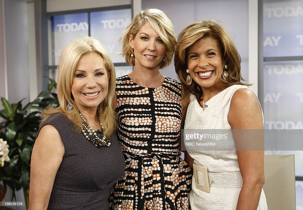 Kathie Lee Gifford, Jenna Elfman and Hoda Kotb appear on NBC News' 'Today' show --