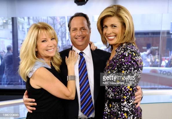 Kathie Lee Gifford Jon Lovitz and Hoda Kotb appear on NBC News' 'Today' show