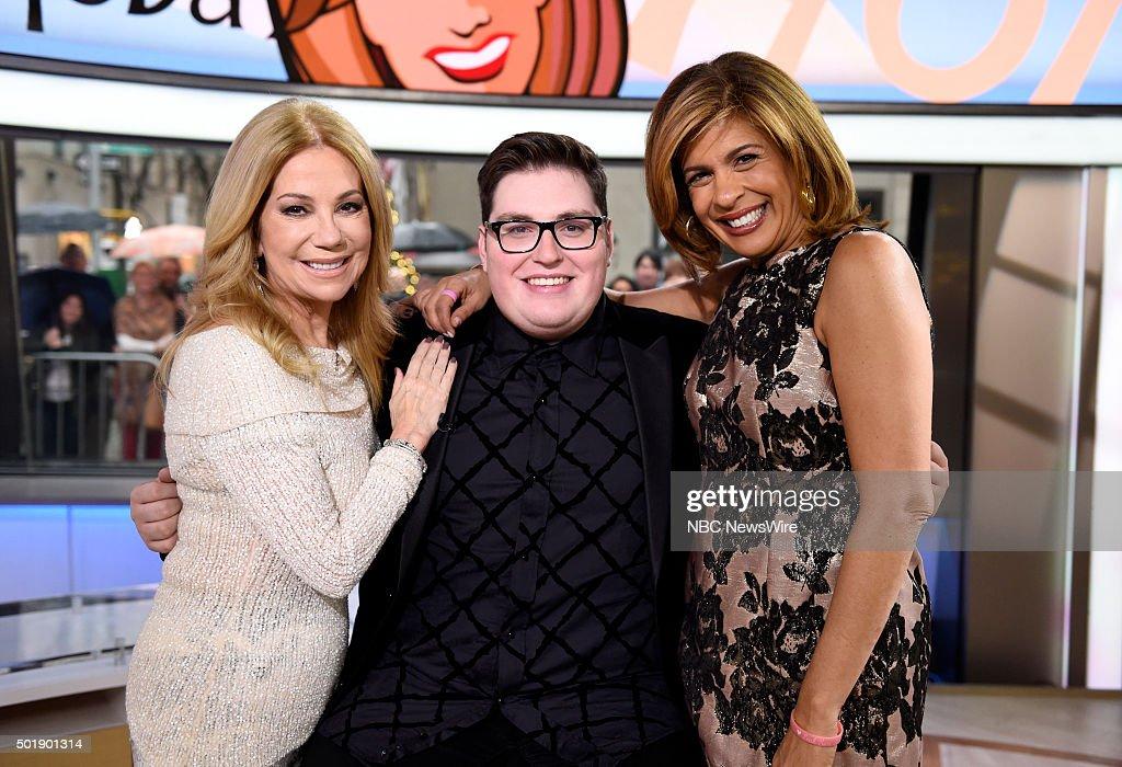 Kathie Lee Gifford, Jordan Smith and Hoda Kotb appear on NBC News' 'Today' show --