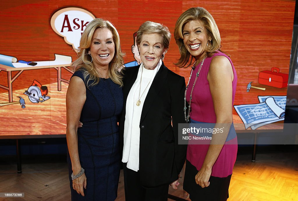 <a gi-track='captionPersonalityLinkClicked' href=/galleries/search?phrase=Kathie+Lee+Gifford&family=editorial&specificpeople=203269 ng-click='$event.stopPropagation()'>Kathie Lee Gifford</a>, <a gi-track='captionPersonalityLinkClicked' href=/galleries/search?phrase=Julie+Andrews&family=editorial&specificpeople=93639 ng-click='$event.stopPropagation()'>Julie Andrews</a> and <a gi-track='captionPersonalityLinkClicked' href=/galleries/search?phrase=Hoda+Kotb&family=editorial&specificpeople=2338013 ng-click='$event.stopPropagation()'>Hoda Kotb</a> appear on NBC News' 'Today' show --