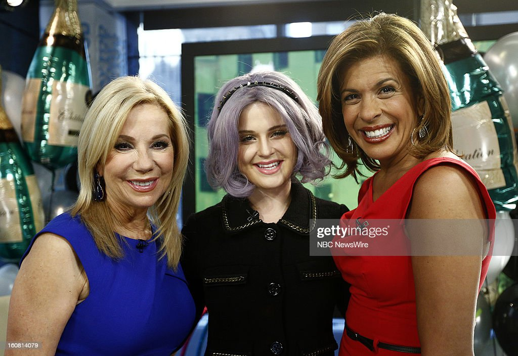 Kathie Lee Gifford, Kelly Osbourne and Hoda Kotb appear on NBC News' 'Today' show --