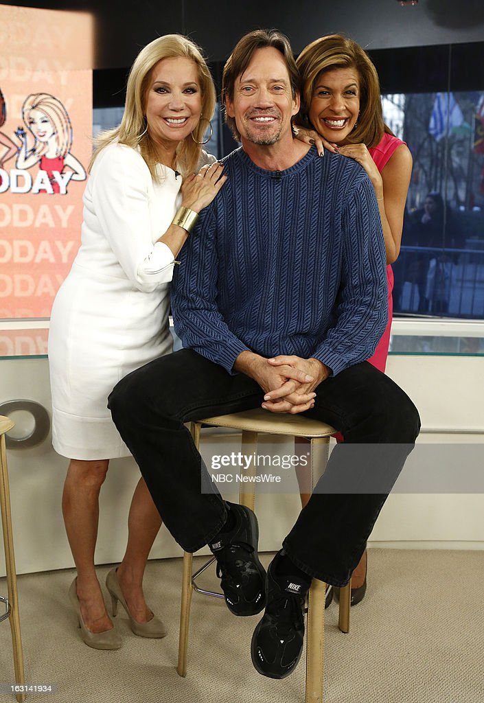Kathie Lee Gifford, Kevin Sorbo and Hoda Kotb appear on NBC News' 'Today' show --