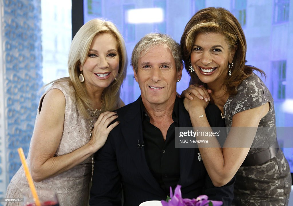 Kathie Lee Gifford, Michael Bolton and Hoda Kotb appear on NBC News' 'Today' show --