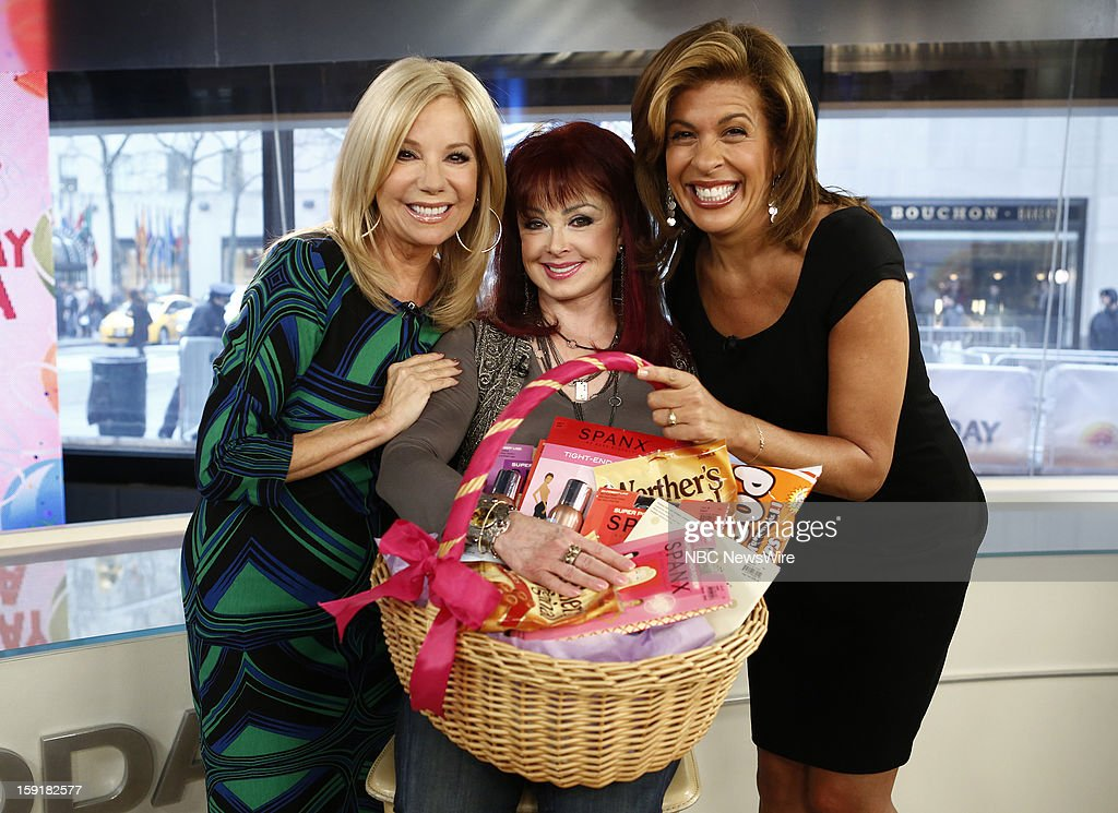 Kathie Lee Gifford, Naomi Judd and Hoda Kotb appear on NBC News' 'Today' show --