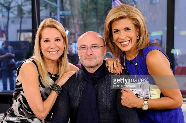 Kathie Lee Gifford Phil Collins and Hoda Kotb appear on NBC News' 'Today' show