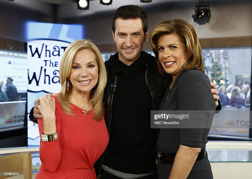 Kathie Lee Gifford, Richard Armitage and Hoda Kotb appear on NBC News' 'Today' show --