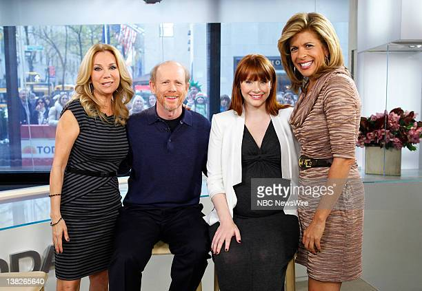 Kathie Lee Gifford Ron Howard Bryce Dallas Howard and Hoda Kotb appear on NBC News' 'Today' show