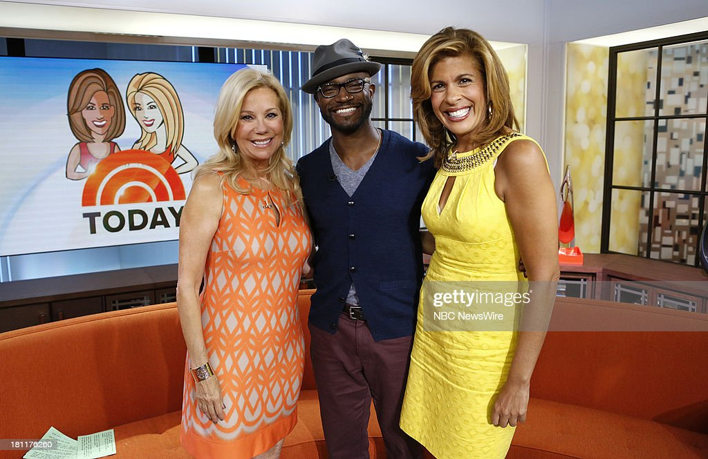 Kathie Lee Gifford, Taye Diggs and Hoda Kotb appear on NBC News' 'Today' show --